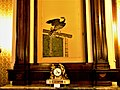 Bucuresti, Romania. MUZEUL NATIONAL COTROCENI. The Bedroom of Queen Elizabeth. (2) (B-II-a-A-19152).jpg
