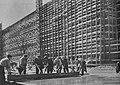 Budowa MDM w Warszawie 1952.jpg