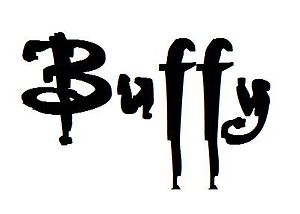 English: The entertitle of Buffy made on Paint.