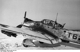 Schlachtgeschwader 2 - Ju 87 of SG 2 in Russia, January 1942