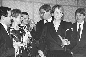 Sabine Bergmann-Pohl - Meeting of the Volkskammer, 2 October 1990