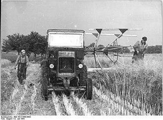 Döschnitz - Agriculture in Döschnitz, 1955