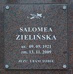 Burial place of Salomea Zielińska at Central Cemetery in Sanok (columbarium).jpg