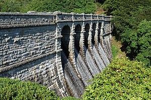 Dartmoor reservoirs - Image: Burrator Dam