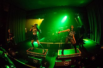 Butcher Babies - Butcher Babies performing live in Mannheim, Germany in March 2018