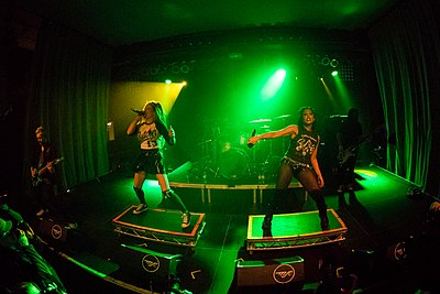 Picture of a band or musician: Butcher Babies