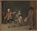 """C.W. Eckersberg - From Ludvig Holberg's """"Jean de France"""", Act 1, Scene 6 - KMS461 - Statens Museum for Kunst.jpg"""