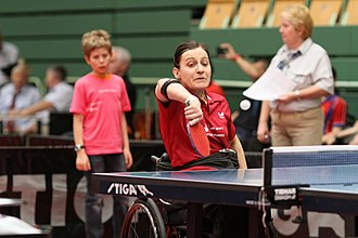 Jane Campbell (table tennis) - Image: CAMPBELL Lara Jane (GBR)
