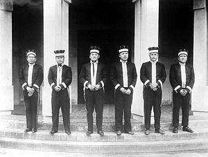 Simalungun people - Heads of Simalungun in East Coast Sumatra.