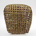 COLLECTIE TROPENMUSEUM Mand van gevlochten bamboe voor het vervoer van pluimvee TMnr 4117-82a.jpg