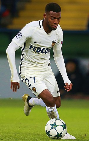 Thomas Lemar - Lemar playing for Monaco in 2016