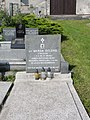 CZE Český Těšín Mistřovice, Hřbitov, grób Wandy Delong.jpg
