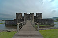 Caerphilly Castle (HDR) (8100713526).jpg