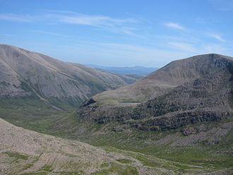 Lairig Ghru - From Braeriach, roughly SW towards the head of Glen Dee