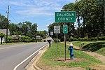 Calhoun County border, Arlington.jpg
