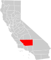 California county map (Kern County highlighted).svg