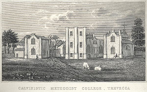 Trefeca - Calvinistic Methodist College, Trevecca, 1860