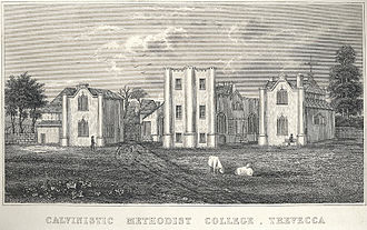 Trefeca - Calvinistic Methodist College, Trevecca, 1860