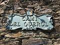 Camí del Querol street sign.JPG