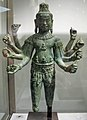 Cambogia o tailandia, bodhisattva lokesvara irradiante, stile di bayon, 1190-1210 ca..JPG