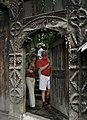 Camil Iamandescu-Poarta bisericii Desesti, Maramures.jpg