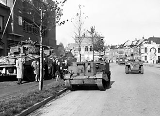 4th Canadian Division - Image: Canadians in Bergen op Zoom