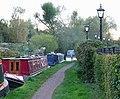 Canal moorings at Compton, Wolverhampton - geograph.org.uk - 1023633.jpg