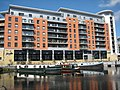 Canalside apartments - geograph.org.uk - 1771119.jpg