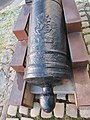 Cannon 12 pound manufactured at Moss Ironworks in Norway, detail.jpg