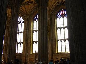 Henry Yevele - Image: Canterbury Cathedral Windows 1
