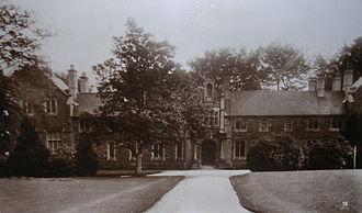 University of Wales Trinity Saint David - The original Canterbury Building (1887–1971)