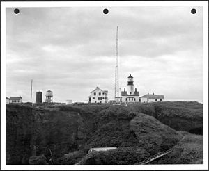 Tatoosh Island, Washington - Cape Flattery Lightstation, circa 1943 - 1953