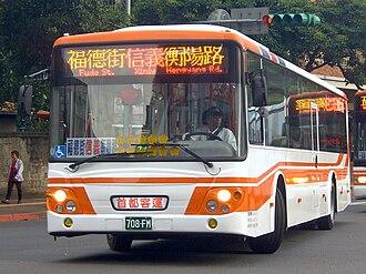 Daewoo Bus - Daewoo BS120CN by Taiwan Capital Bus Company