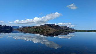Caragh Lake - Image: Caragh Lake in Spring