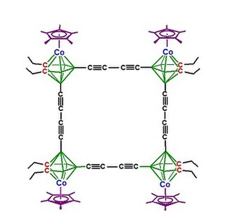 Sandwich compound - Image: Carbon wired tetracobaltacarboran e 2