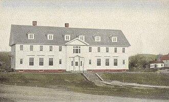 Andover, New Hampshire - Carey House, Proctor Academy, c. 1915