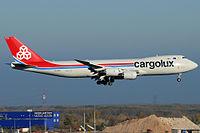 LX-VCG - B748 - Cargolux Italia
