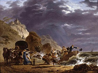 Carle Vernet - Image: Carle Vernet Arrival of Emigres with the Duchess of Berry on the French Coast WGA24718