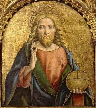 Salvator Mundi - Image: Carlo Crivelli, salvatore, c. 1470, El Paso Museum of Art