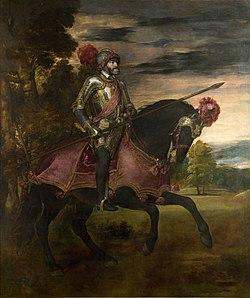 Carlos V en la Batalla de Mühlberg, por Tiziano.jpg