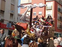 Carroza del Carnaval 2007