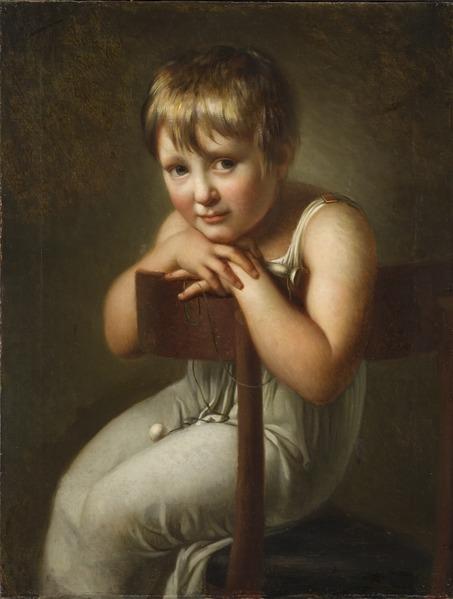 File:Carolina Mandorff, 1799-1874, gift Wester, som barn (Per Krafft d.y.) - Nationalmuseum - 117887.tif