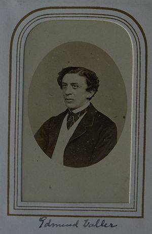 Waller family (Kent) - Edmund Waller VI or VII (1828-98), JP, DL