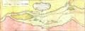 Carte du cours du fleuve de Saint Laurent depuis Quebec jusqu a la mer - Ire Feuille haut.png