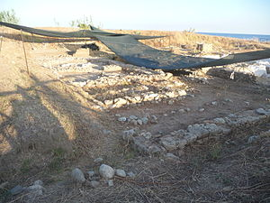 Caulonia (ancient city) - Image: Casa greca