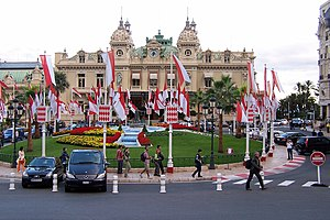 2006 Monte Carlo Rally - View of the casino - the official start place of the Monte Carlo Rally