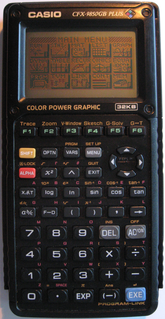 Casio 9850 series Series of graphing calculators by Casio