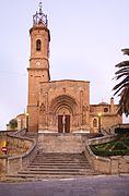Caspe - Colegiata de Sta María la Mayor - Fachada03.jpg