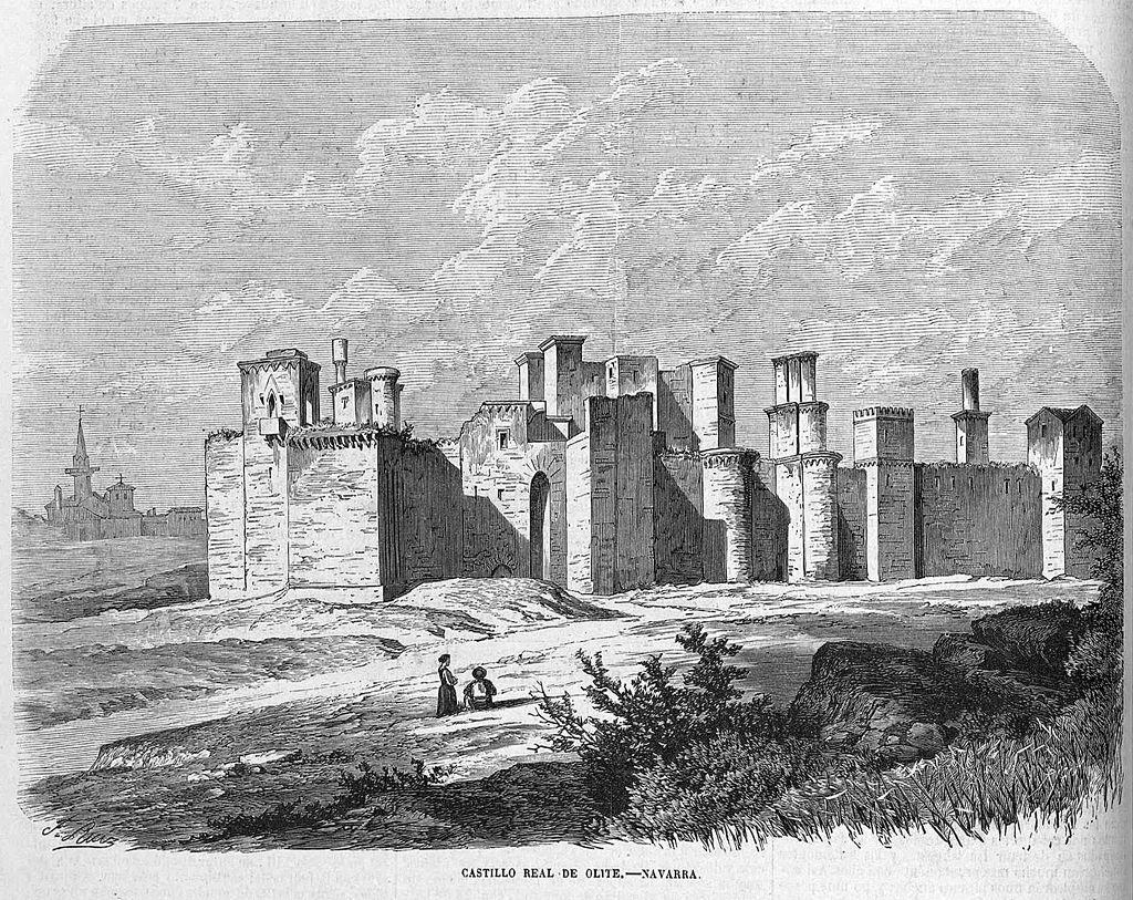 Estado del Palacio en 1866