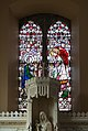 Castletownbere Sacred Heart Church Left Side Altar Window 2017 08 29.jpg